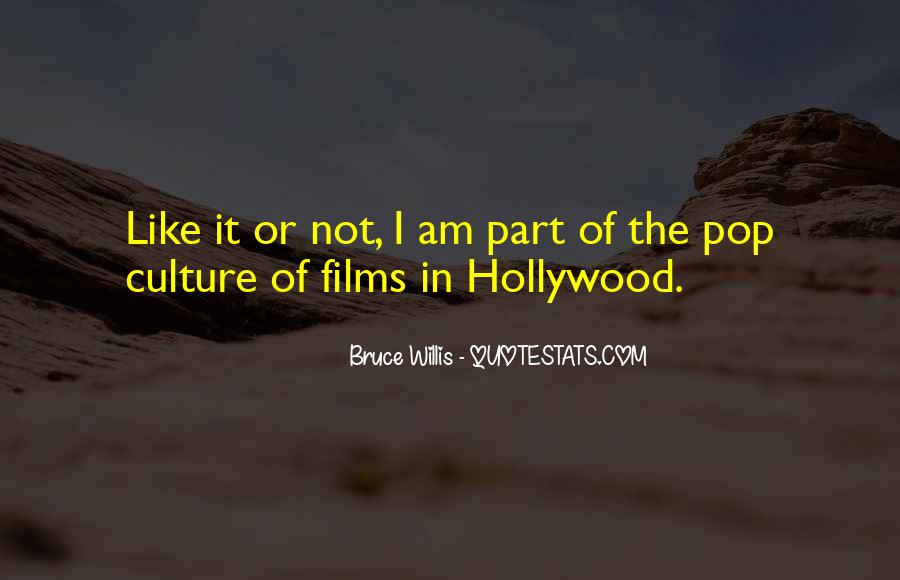 Quotes About Hollywood Films #44272
