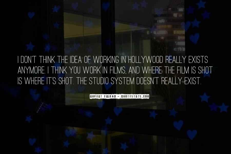 Quotes About Hollywood Films #493715