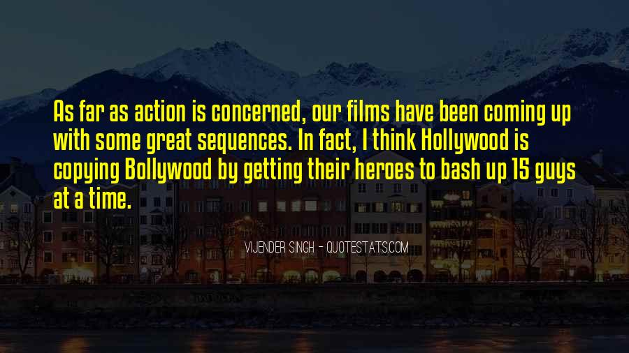 Quotes About Hollywood Films #60996