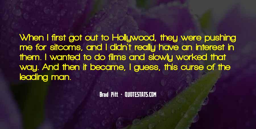 Quotes About Hollywood Films #670016