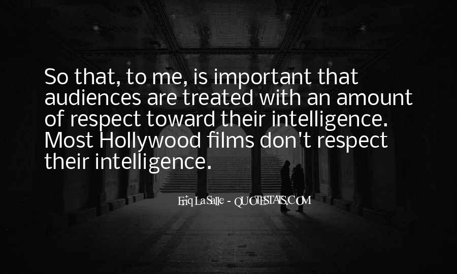 Quotes About Hollywood Films #769331