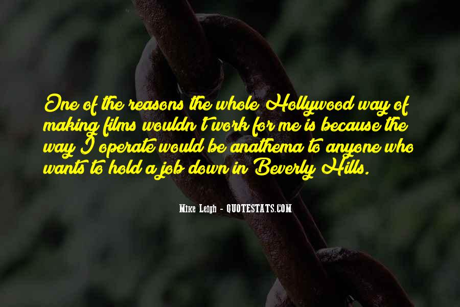Quotes About Hollywood Films #861932