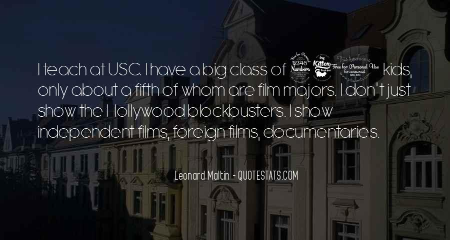 Quotes About Hollywood Films #867063