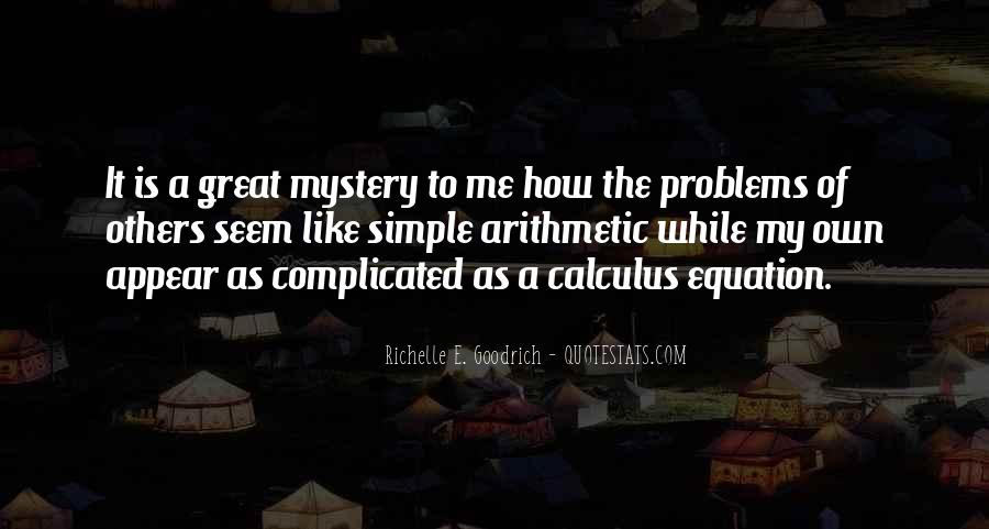 Quotes About Calculus #1058835