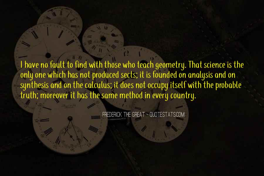 Quotes About Calculus #1072492