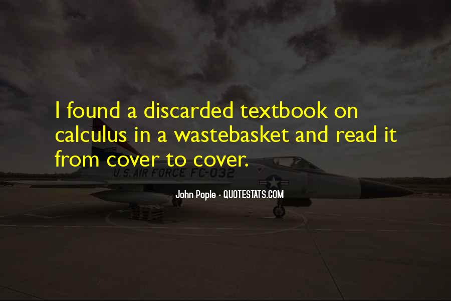 Quotes About Calculus #109744
