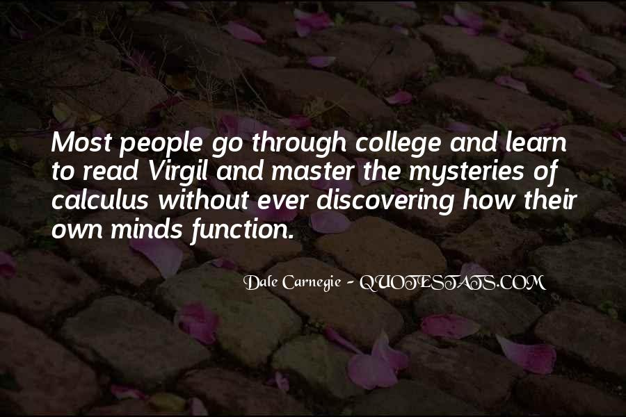 Quotes About Calculus #1171969