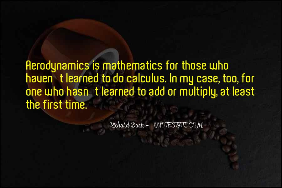 Quotes About Calculus #1215658