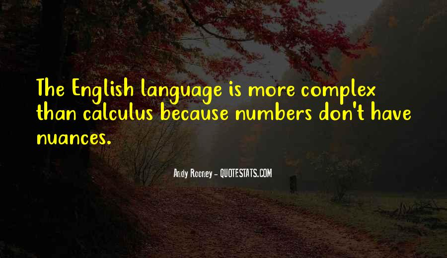 Quotes About Calculus #1240386