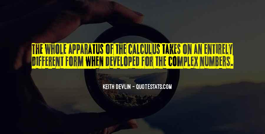 Quotes About Calculus #1248426