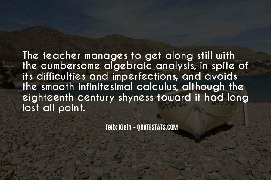 Quotes About Calculus #1295365
