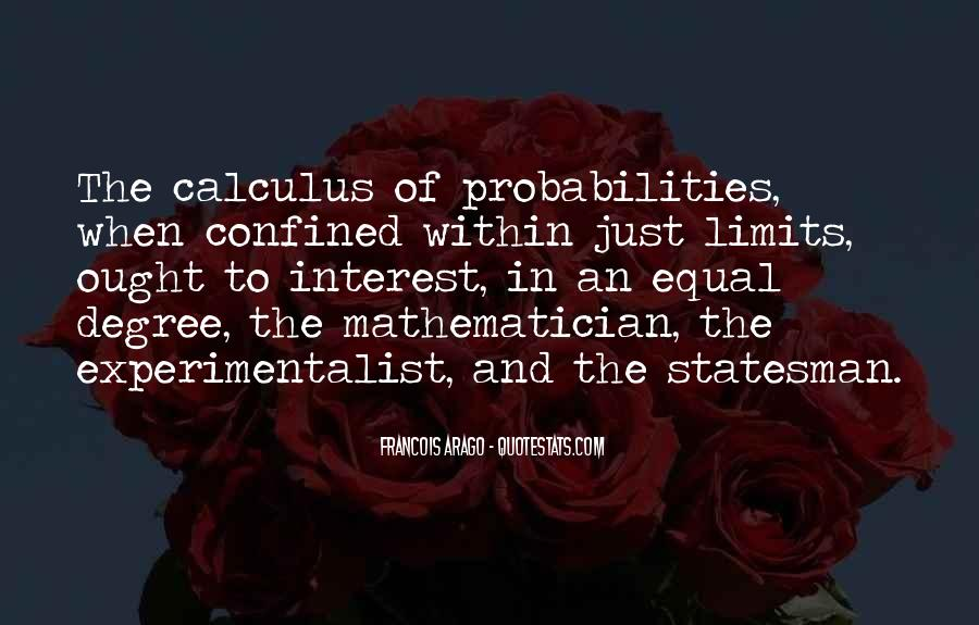 Quotes About Calculus #141015