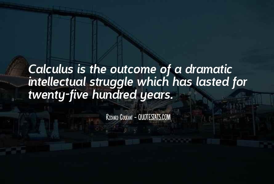 Quotes About Calculus #186773