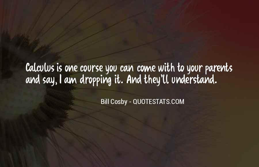 Quotes About Calculus #520619