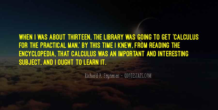 Quotes About Calculus #650216