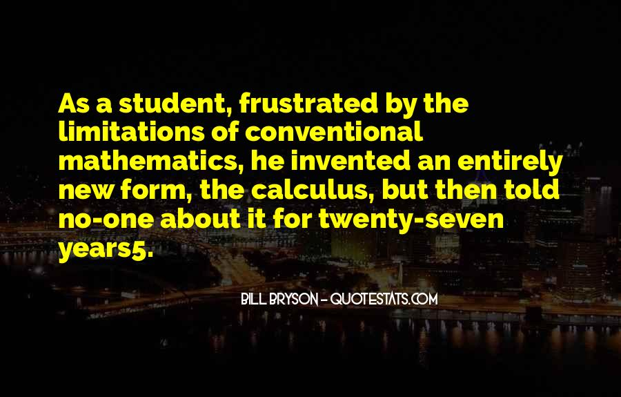 Quotes About Calculus #665990