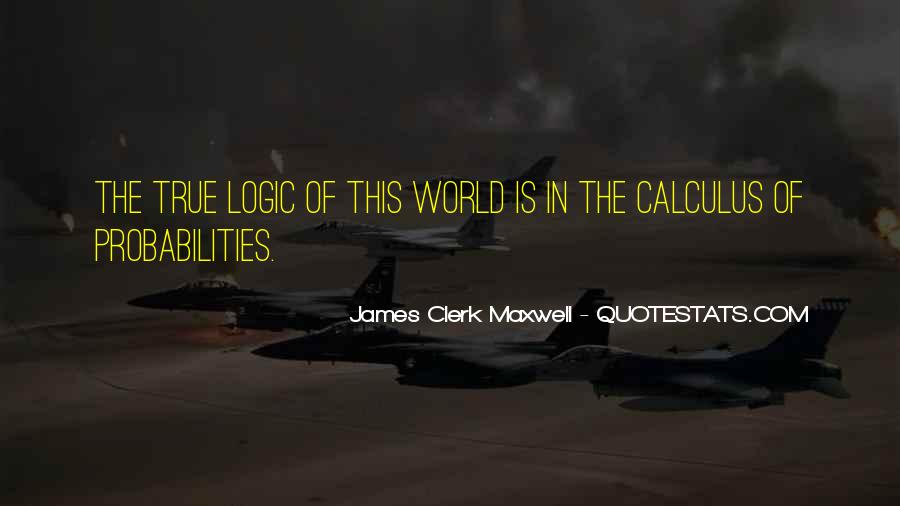 Quotes About Calculus #674060