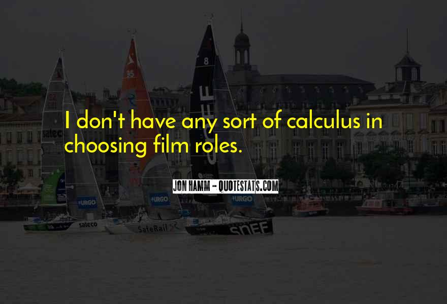 Quotes About Calculus #815536