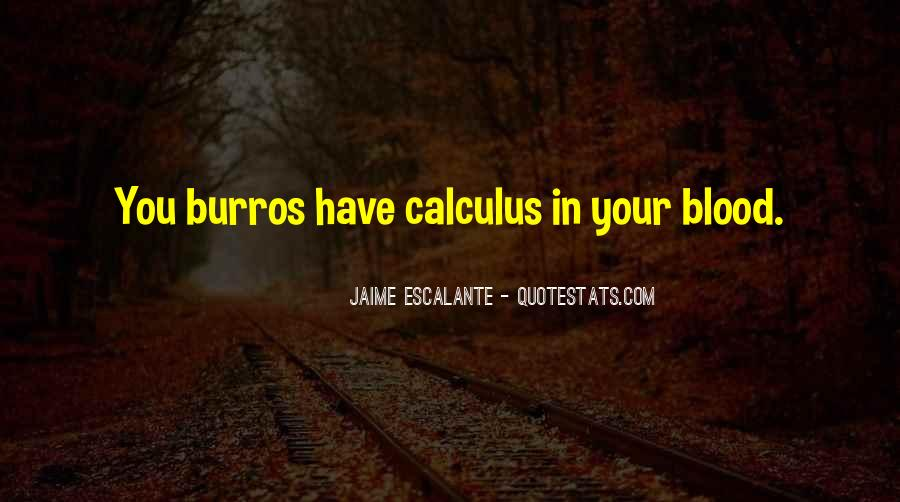 Quotes About Calculus #825798