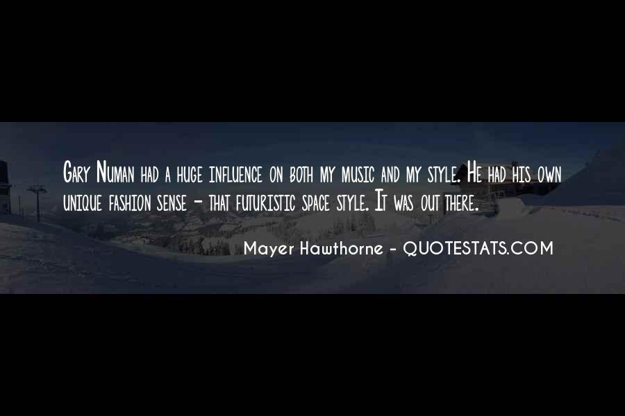 Quotes About Unique Fashion #109778