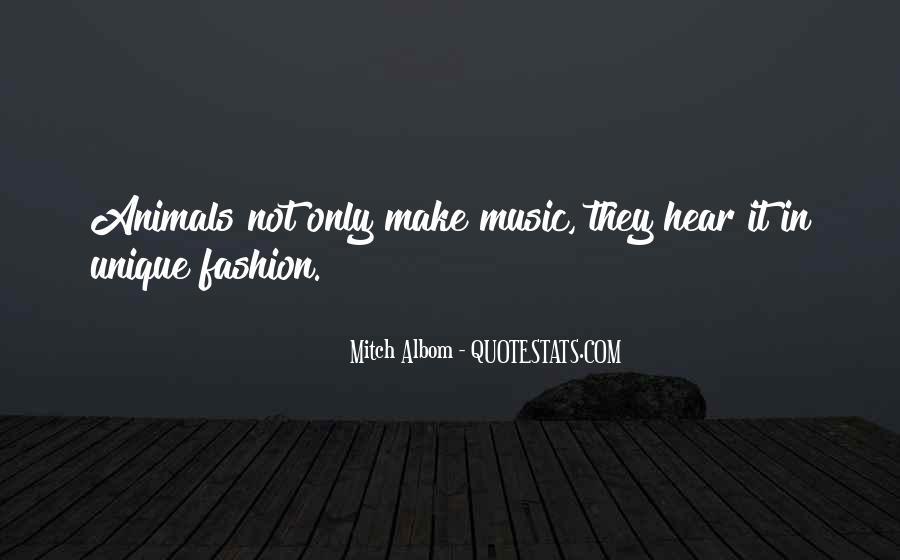 Quotes About Unique Fashion #117528