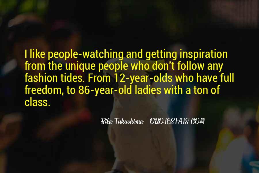 Quotes About Unique Fashion #1762947