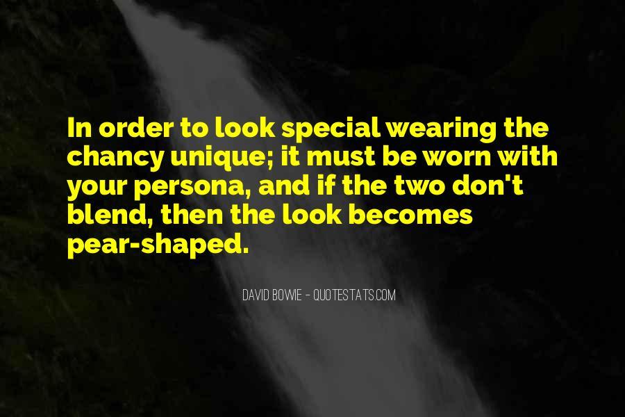 Quotes About Unique Fashion #219375