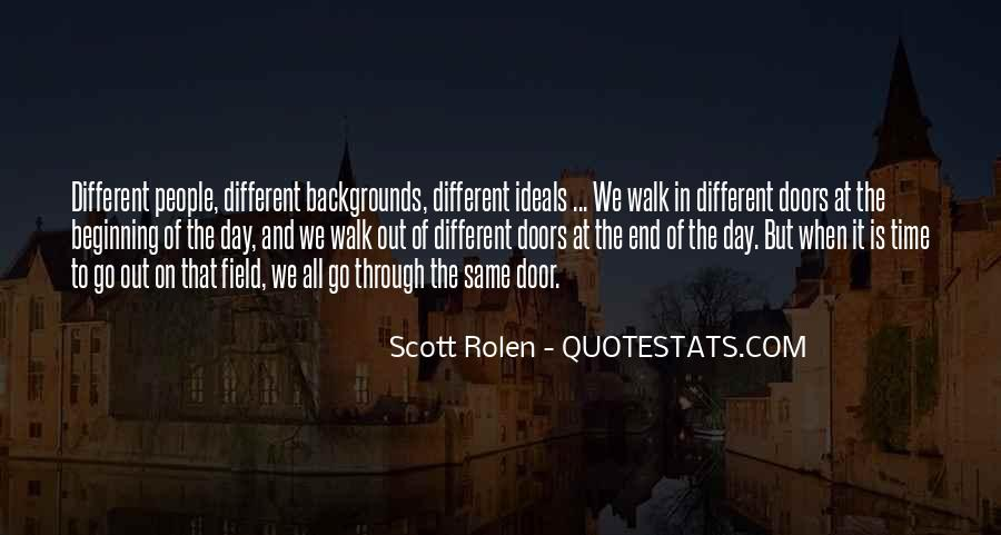 Quotes About Different Backgrounds #965356