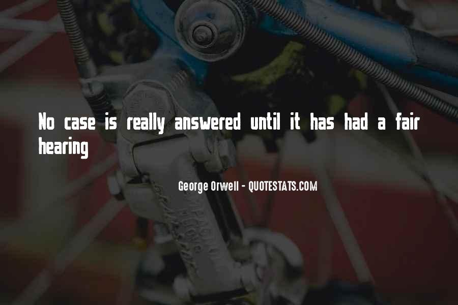 Quotes About Hearing No #1051110