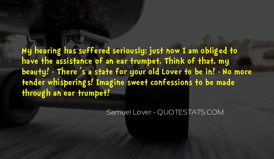 Quotes About Hearing No #1084689