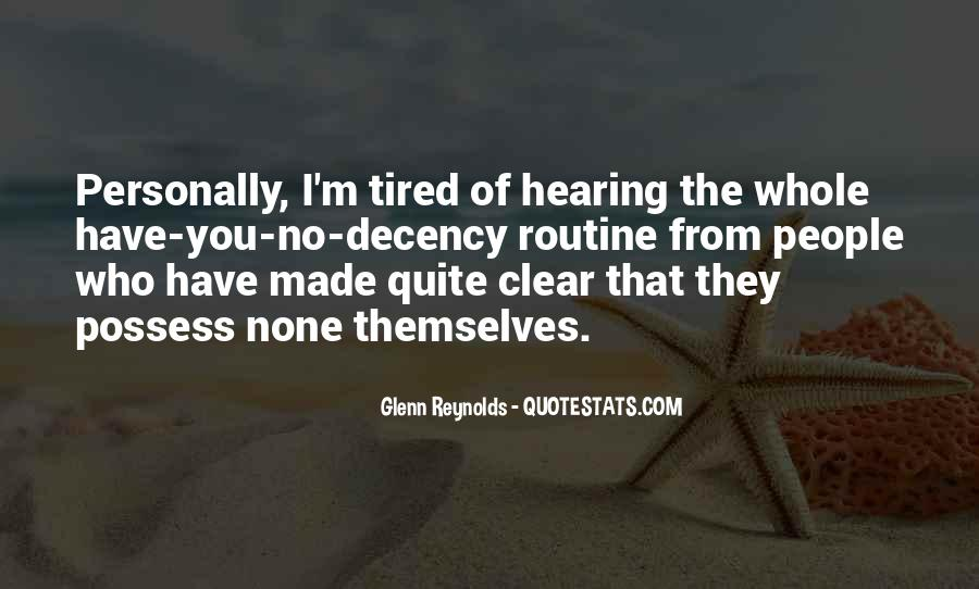 Quotes About Hearing No #1200148