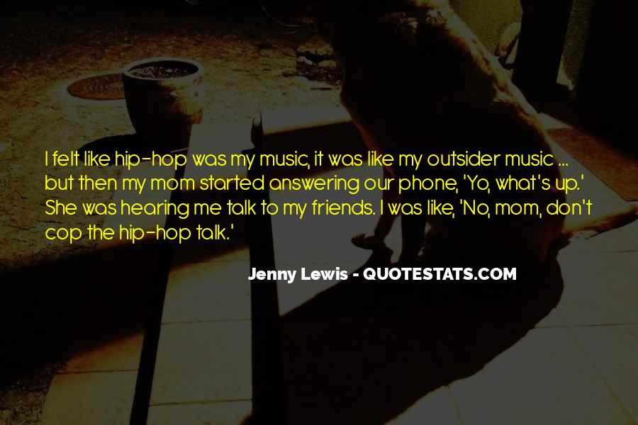 Quotes About Hearing No #1261479