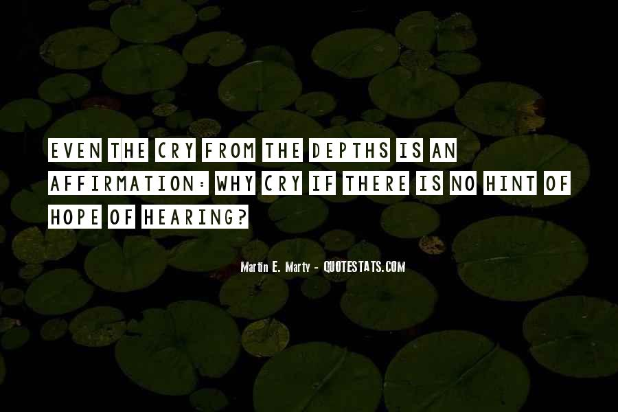 Quotes About Hearing No #189148
