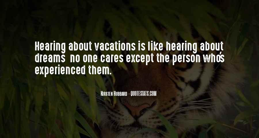 Quotes About Hearing No #264328