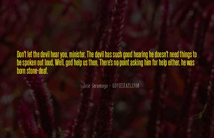 Quotes About Hearing No #295409