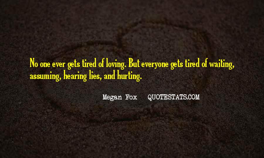 Quotes About Hearing No #377111