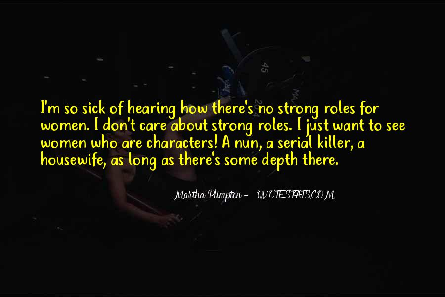 Quotes About Hearing No #76873