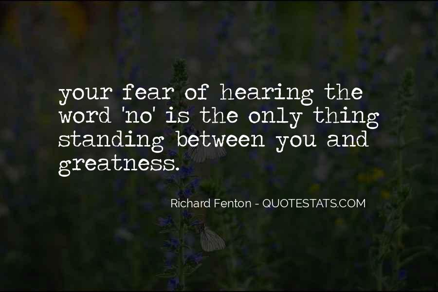 Quotes About Hearing No #781156