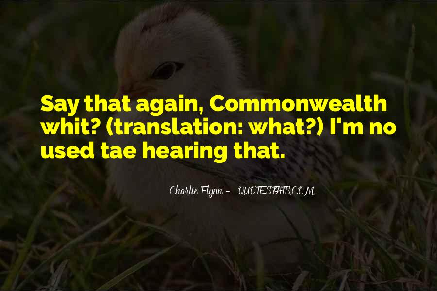 Quotes About Hearing No #78669