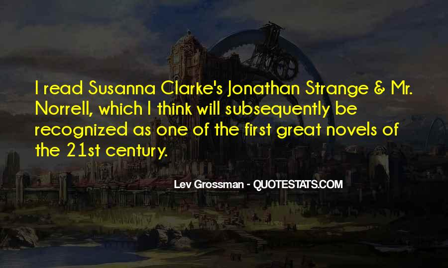 Quotes About Great Novels #1057427