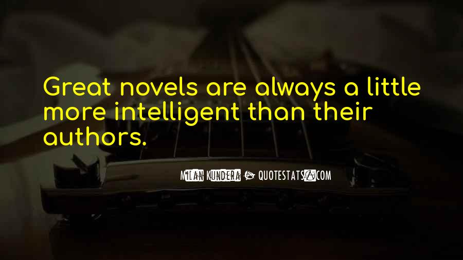 Quotes About Great Novels #1112515