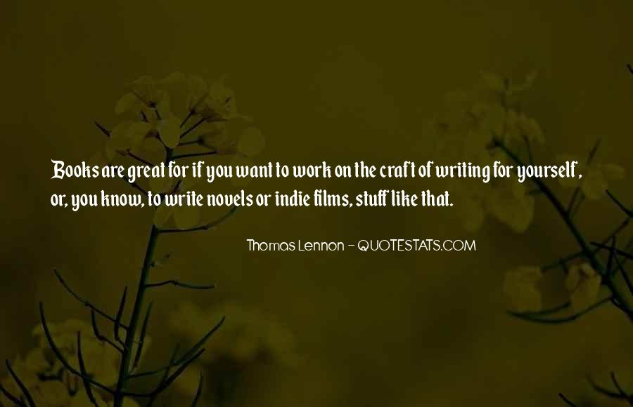 Quotes About Great Novels #1405790