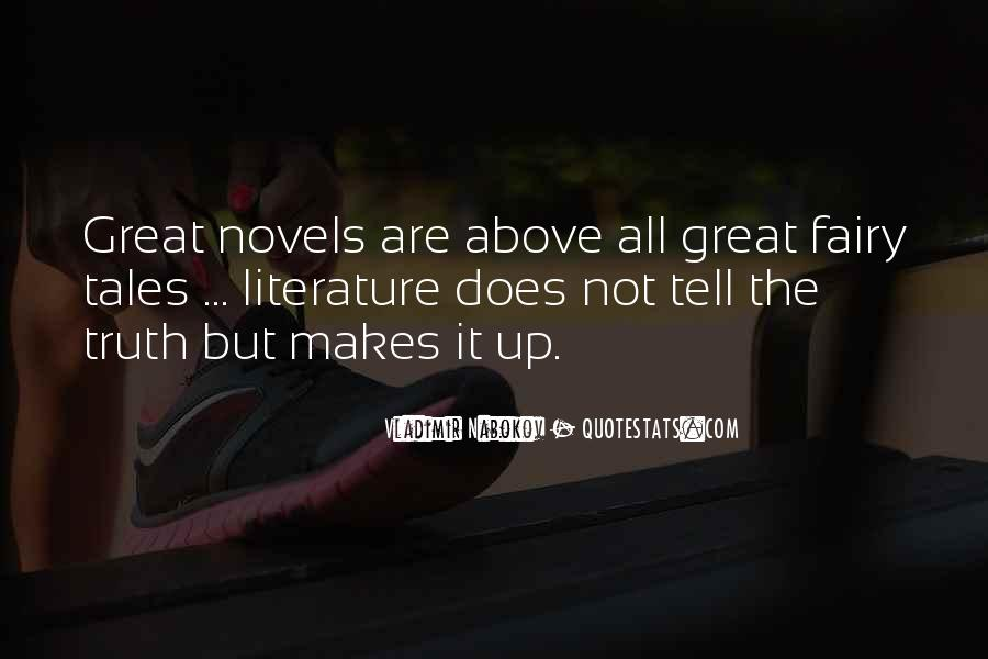 Quotes About Great Novels #1448604