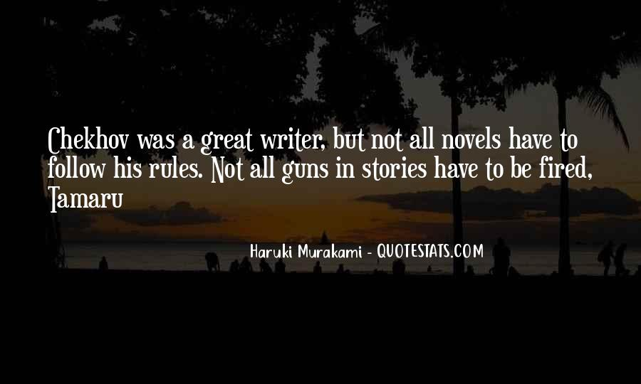 Quotes About Great Novels #1554768