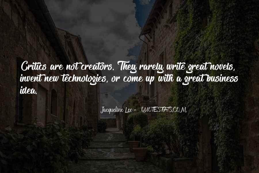 Quotes About Great Novels #169048
