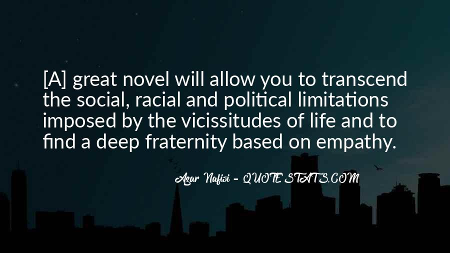 Quotes About Great Novels #1718816