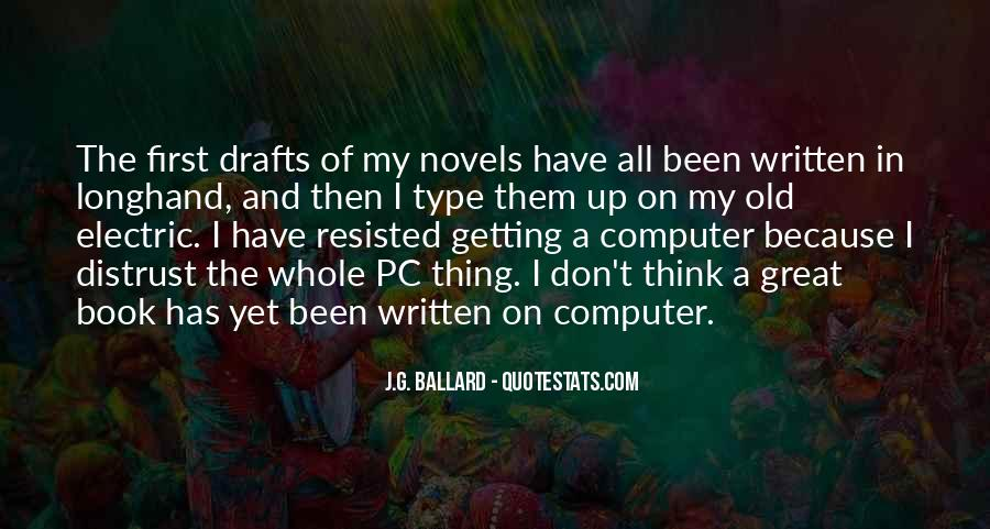 Quotes About Great Novels #1739366