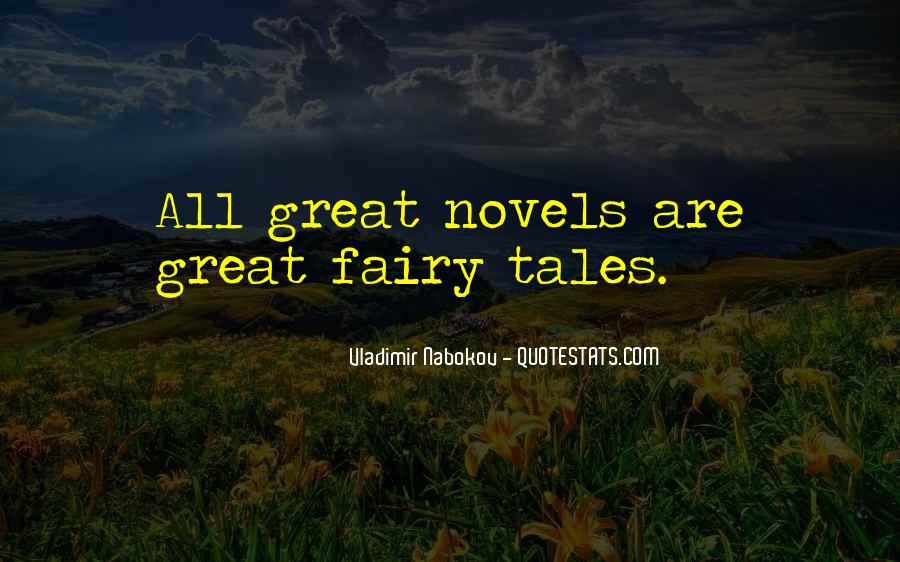 Quotes About Great Novels #1812995