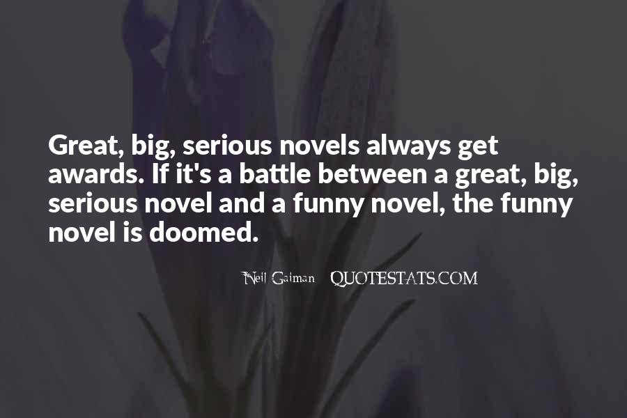 Quotes About Great Novels #181342