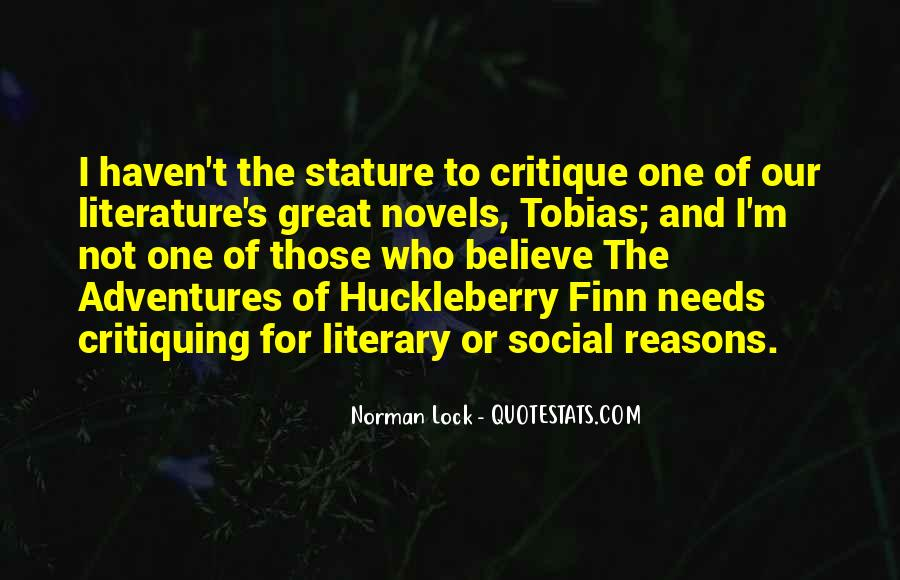 Quotes About Great Novels #1850943
